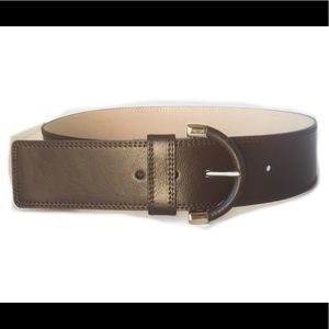 """BANANA REPUBLIC BELT S 32 MADE IN ITALY LEATHER 2"""""""